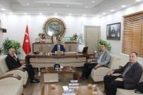 MUSTAFA BÜYÜK - Başsavcı Bölükbaşı'ndan, Baro Başkanı Burak'a Ziyaret