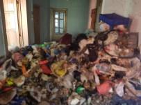 Çöp Evden 5 Ton Atık Çıktı