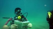 SU SPORLARI - Denizde 10 Metre Derinlikte Kitap Okudular