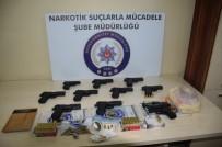SİLAH TİCARETİ - Düzce Polisinden Silah Ve Uyuşturucu Operasyonu