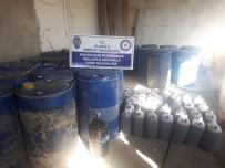 Elazığ'da 5 Ton Kaçak İçki Ele Geçirildi