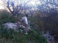Emet'in Küreci Köyü'nde Çöp Rezaleti
