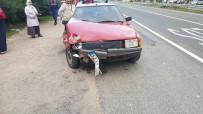 Fatsa'da Trafik Kazası Açıklaması 2 Yaralı