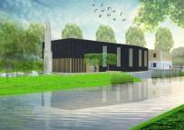 YENI CAMI - Hollanda'da 'Cami İstemiyoruz' Deyip Ev Taşladılar