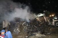 Köyde Meydana Gelen Yangın Sonucu 4 Ev Zarar Gördü