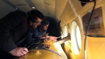 Kuzey Ege'de Yasa Dışı Geçişlere Havadan Denetim