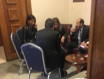 Meclis'te skandal görüntüler