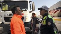 TRAFİK TESCİL - Balıkesir'de Kamyon Ve TIR Sürücülerine Denetim