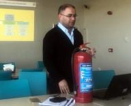 Sağlık Çalışanlarına Yangından Korunma Eğitimi Verildi