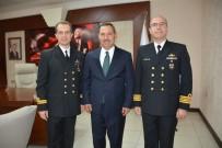 TCG Yıldırım'ın Komutanları Başkan Uysal İle Görüştü