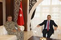 Tümgeneral Tokel'den Vali Akbıyık'a Ziyaret