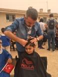 Türkiye'nin 4 Bir Yanından Gelen Gönüllü Berberler Güneydoğulu Öğrencileri Tıraş Etti