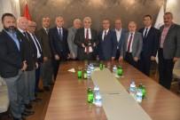 Vali Güvençer, MESOB Başkanı Geriter İle Vedalaştı