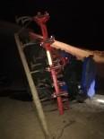 Yeni Aldığı Traktörle 15 Metrelik Viyadükten Uçtu