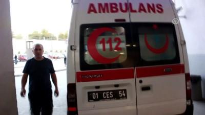 Adana'da Bıçaklı Saldırıya Uğrayan Genç Ağır Yaralandı
