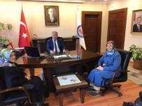 MURAT DURU - AK Parti Kadın Kollarından Kaymakam Duru'ya Ziyaret