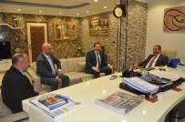 Mehmet Yiğiner - Ankara Emniyet Müdürü Yılmaz, MKE Ankaragücü Başkanı Yiğiner'i Ziyaret Etti