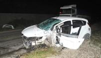 Bafra'da Kaza Açıklaması 7 Yaralı