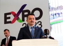 Bakan Pakdemirli Açıklaması 'EXPO 2023 Kahramanmaraş'a Saygınlık Kazandıracak'