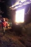 Bolu'da Tek Katlı Ev Alev Alev Yandı