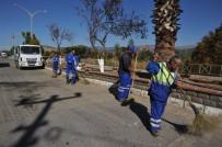 GEYRE - Büyükşehir Karacasu'da Alt Ve Üst Yapı Çalışmalarını Sürdürüyor