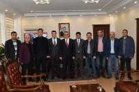 İBRAHİM ASLAN - Gazeteciler Vali Aykut Pekmez İle Bir Araya Geldi