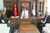 Gazetecilerden Kaymakam Yalçın'a Ziyaret