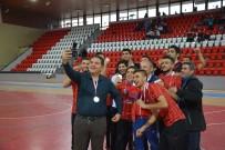ŞAMPİYONLUK KUPASI - Gaziantep Polisgücü Amasya'da Destan Yazıyor