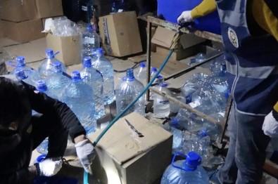 Gaziantep'te Bir Ambara Sahte İçki Operasyonu