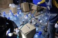 GAZIANTEP EMNIYET MÜDÜRLÜĞÜ - Gaziantep'te Bir Ambara Sahte İçki Operasyonu