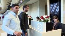 HAYDAR ALİYEV - İstanbul Havalimanı'ndan Azerbaycan'a İlk Uçuşunu Yapan Uçak Bakü'ye Ulaştı