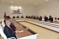 ERTUĞRUL ÇALIŞKAN - Karaman'da Kış Mevsiminde Alınacak Trafik Tedbirleri Konuşuldu