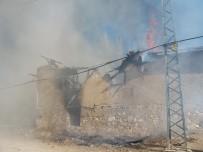 Köy Evinde Korkutan Yangın