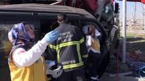 Kütahya'da Trafik Kazası Açıklaması 1 Ölü, 2 Yaralı