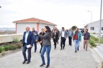 ARITMA TESİSİ - Lapseki Belediye Meclis Üyeleri Yatırımları Yerinde İnceledi