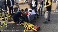 SEMT PAZARI - Motosiklet İle Otomobil Çarpıştı Açıklaması 1 Yaralı