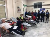Polisten Kan Bağış Kampanyası
