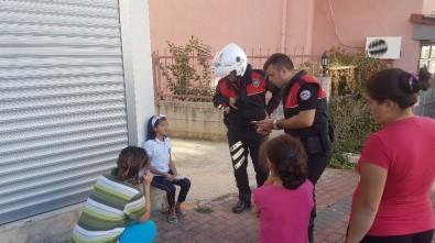 Küçük kızı polis buldu
