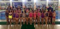 Salihlili Yüzücüler Madalyaları Topladı