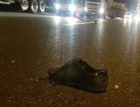 HADıMKÖY - TEM'de feci kaza: Ceset parçalara bölündü