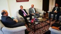 TİCARET ODASI - Türkiye'nin Lefkoşa Büyükelçisi Başçeri KTTO Heyetini Kabul Etti