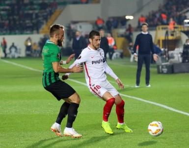 UEFA Avrupa Ligi Açıklaması Akhisarspor Açıklaması 0 - Sevilla Açıklaması 2 (İlk Yarı)