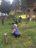 MEZAR TAŞLARı - Üniversiteli Öğrencileri Projelerini Mezarlıkta Tamamladı