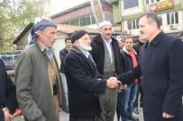TRAFİK KURALLARI - Vali Akbıyık, Yaralıları Ziyaret Edip Esnafın Sorunlarını Dinledi