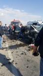 Afyonkarahisar'da Trafik Kazası, 2 Ölü, 3 Yaralı