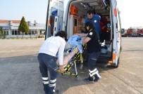 BAHÇEŞEHIR - Ambulans Helikopter, Rüzgar Bebek İçin Havalandı