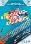 FOLKLOR GÖSTERİSİ - 'Artrabzon Trabzon'un 61 Yüzü' Temasını Taşıyan Ulusal Resim Çalıştayı