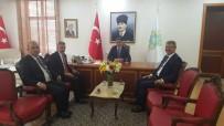 KAYSERİ ŞEKER FABRİKASI - Başkan Akay'dan Tokat Valisi Dr. Ozan Balcı'ya Ziyaret