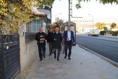 Başkan Başsoy Ordu Caddesinde Yapılan Asfalt Çalışmalarını İnceledi