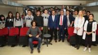 EĞİTİM HAYATI - Başkan Cahan Gençlerle Tecrübelerini Paylaştı
